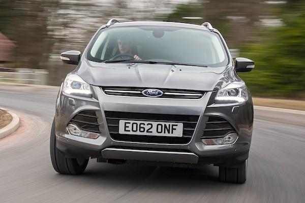 Ford Kuga Europe November 2014