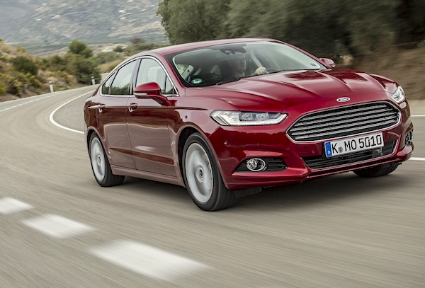 Ford Mondeo Spain December 2014. Picture courtesy of largus.fr