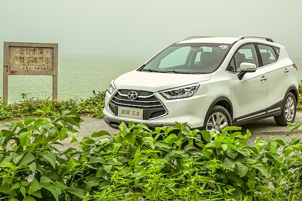 JAC Refine S3 China 2014. Picture courtesy autov.com.cn
