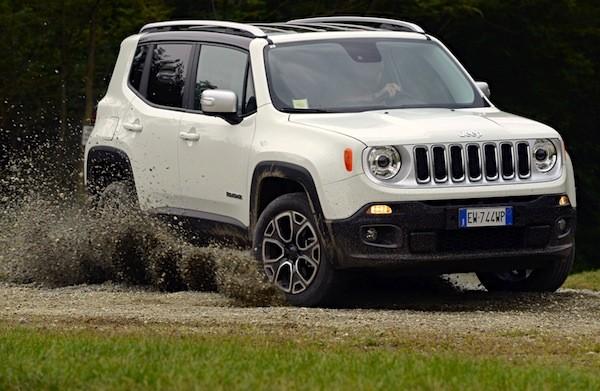 Jeep Renegade Italy December 2014. Picture courtesy of auto-moto.com