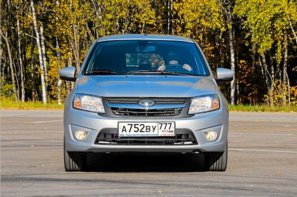 Lada Granta Russia 2014. Picture courtesy of zr.ru