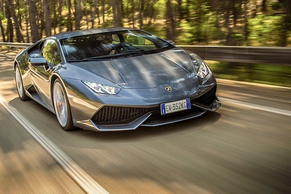 Lamborghini Huracan Europe November 2014. Picture courtesy of caranddriver.com