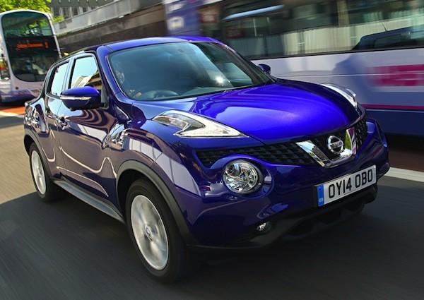 Nissan Juke UK 2014