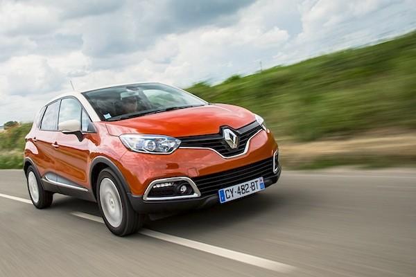 Renault Captur France 2014. Picture courtesy of largus.fr