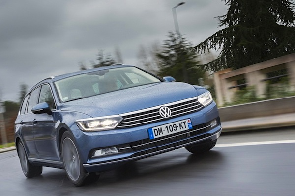 VW Passat Austria January 2015. Picture courtesy of largus.fr