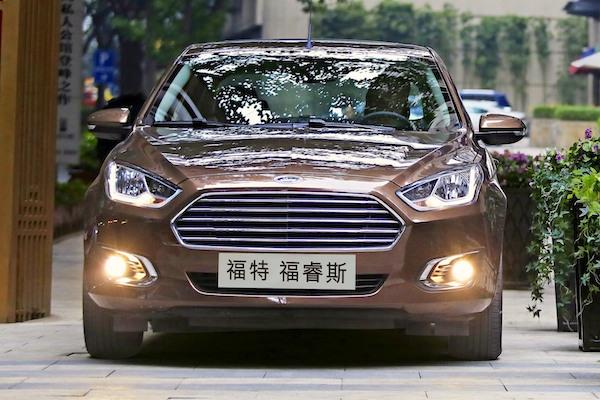 Ford Escort China January 2015