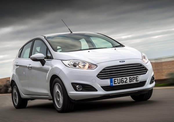 Ford Fiesta UK April 2016