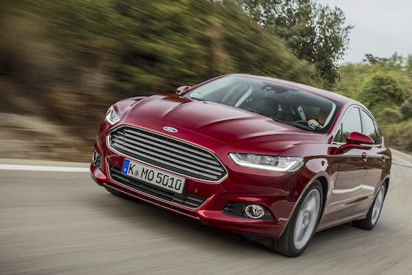 Ford Mondeo Poland 2015. Picture courtesy largus.fr