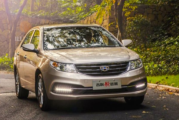 Geely Vision China January 2015