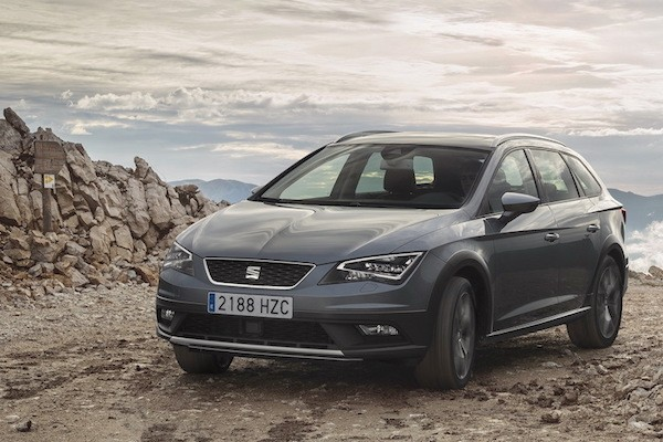 Seat Leon Spain 2015. Picture courtesy largus.fr
