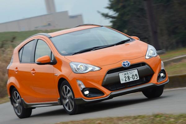 Toyota Aqua X-URBAN Japan January 2015. Picture courtesy autoc-one.jp
