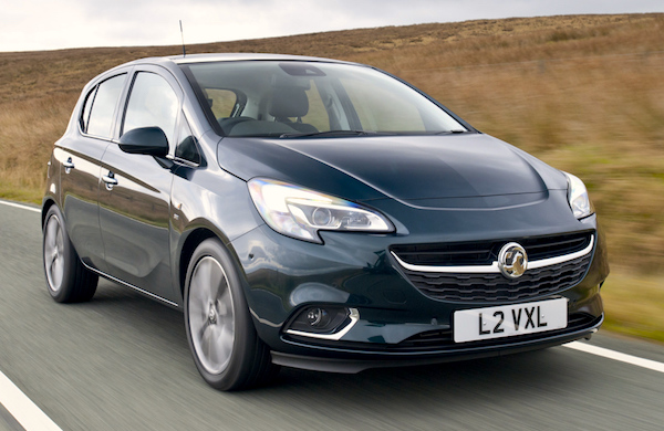 Vauxhall Corsa UK March 2015