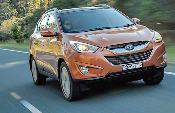 Hyundai ix35 Austria February 2015. Picture courtesy carsguide.com.au