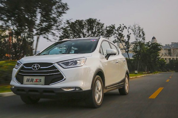 JAC Refine S3 China February 2015. Picture courtesy auto.sohu.com