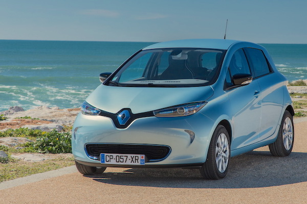 Renault Zoe France February 2015. Picture courtesy largus.fr