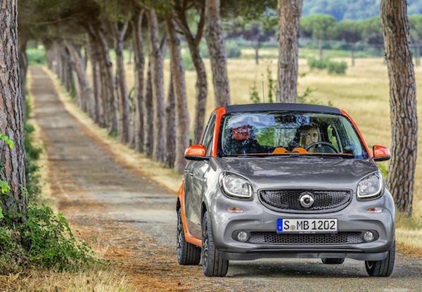 Smart Forfour Italy February 2015