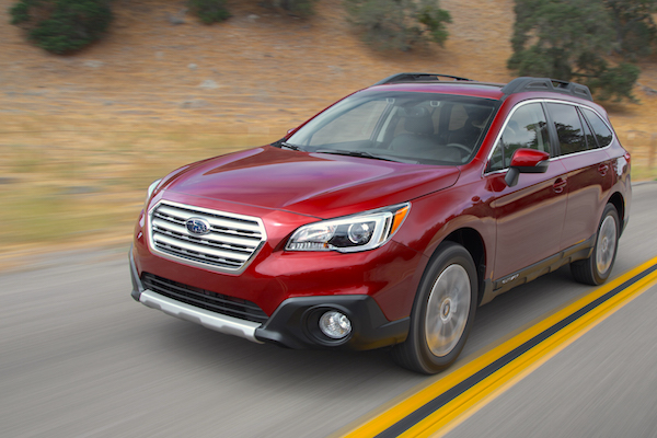 Subaru Outback USA February 2015. Picture courtesy motortrend.com