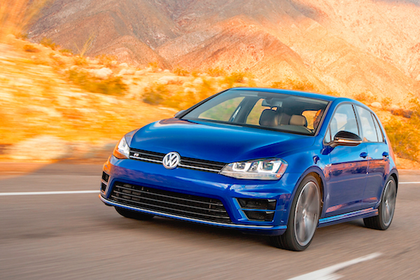 VW Golf Canada February 2015. Picture courtesy motortrend.com
