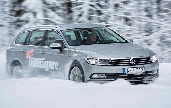 VW Passat Sweden February 2015. Picture courtesy vibilagare.se