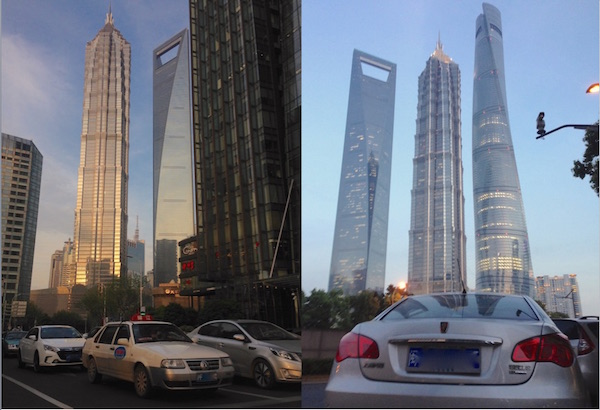 1. Shanghai Pudong street scene 7