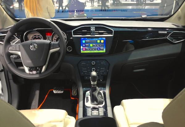 29. MG GS interior