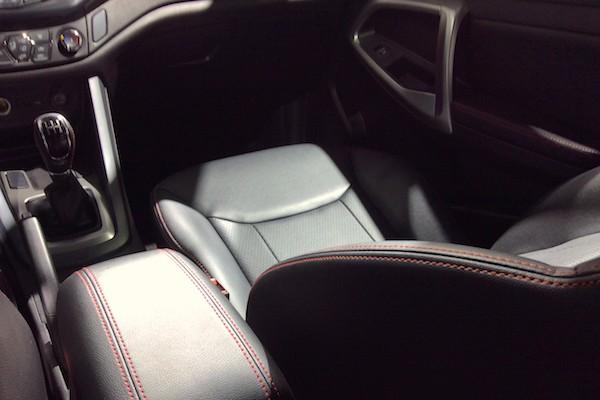 33. Chery Tiggo 5 1.5T interior