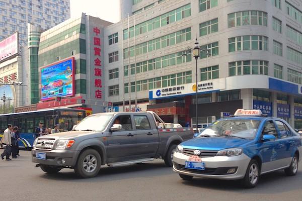 4. ZX Auto Grand Tiger FAW V5 taxi Mudanjiang
