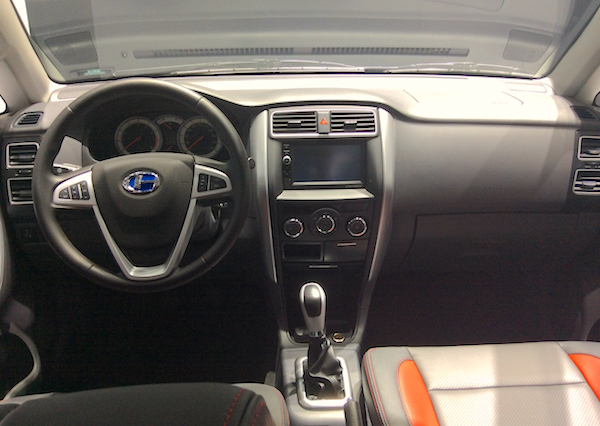6. ChangHe A6 interior