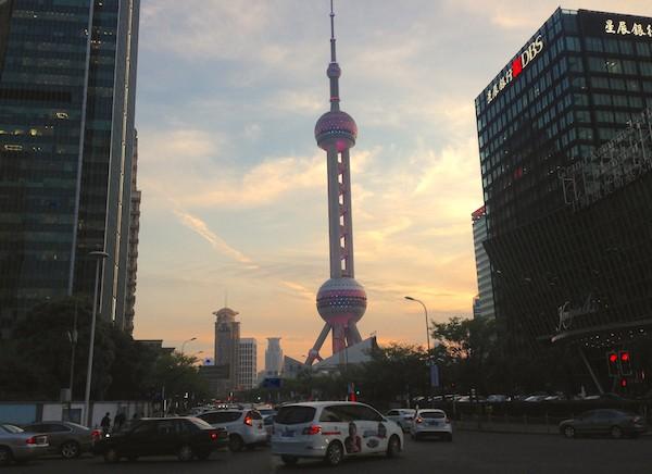 6. Shanghai Pudong street scene 3