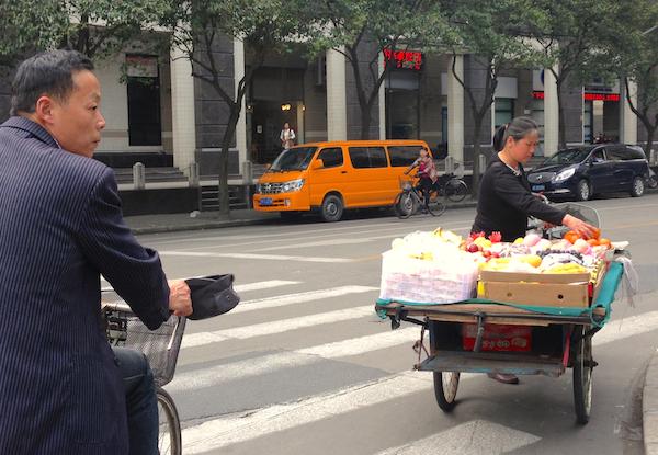 8. Shanghai street scene
