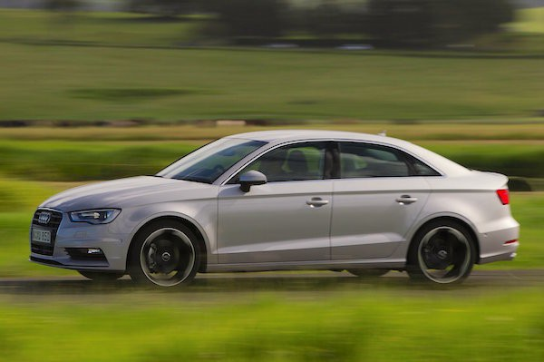Audi A3 Sedan Hong Kong March 2015. Picture courtesy caradvice.com.au