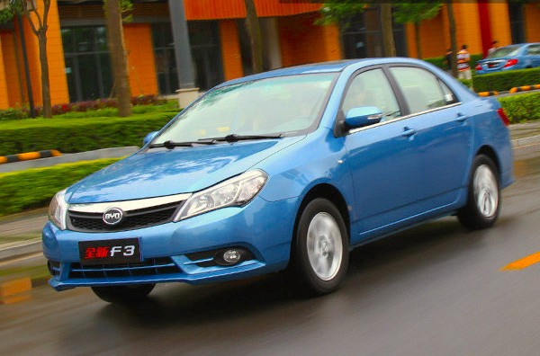 BYD F3 China March 2015