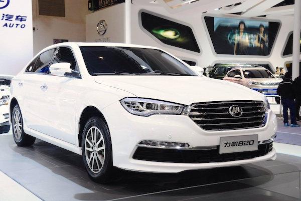 Lifan 820 China March 2015. Picture courtesy auto.sina.com.cn