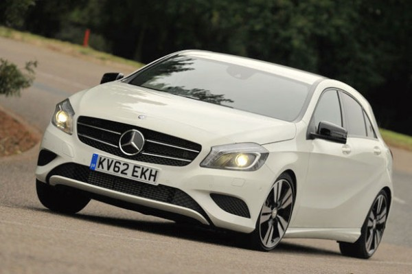 Mercedes A Class UK 2014. Picture courtesy of whatcar.co.uk