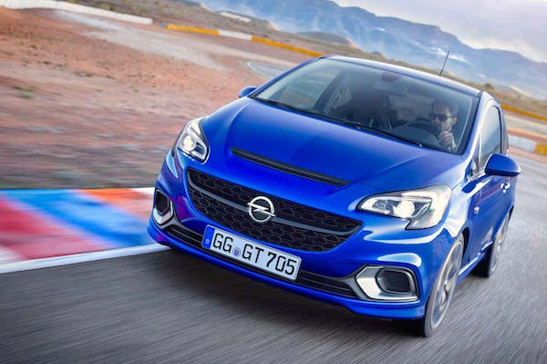 Opel Corsa Germany March 2015