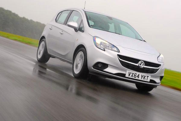 Vauxhall Corsa Scotland 2016. Picture courtesy autoexpress.co.uk