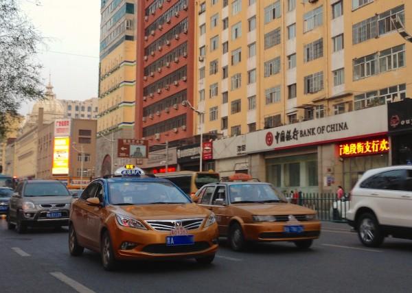 2. ChangAn Eado Taxi Harbin