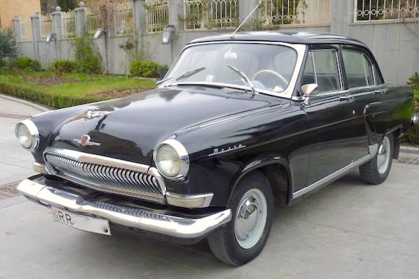 5. Gaz M21 Volga 1956