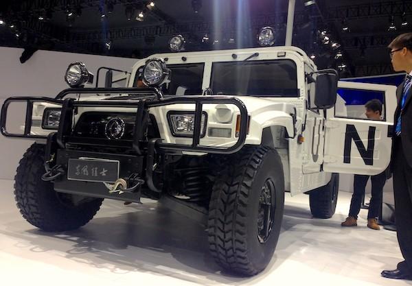 73. Dongfeng Humvee