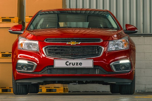 Chevrolet Cruze Swaziland 2014