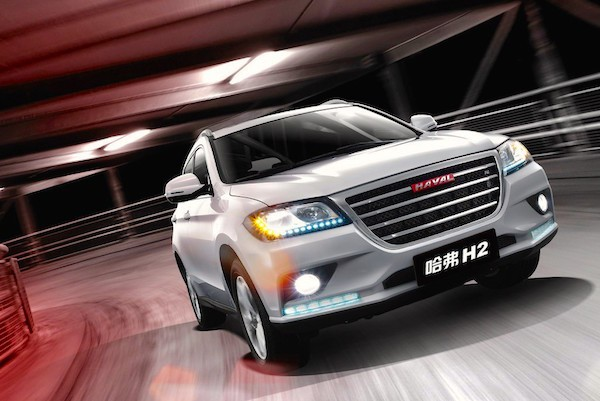 Haval H2 China April 2015