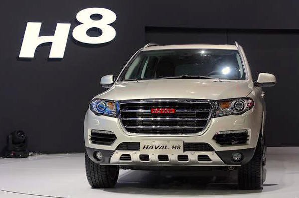 Haval H8 China April 2015. Picture courtesy zhuayoukong.com