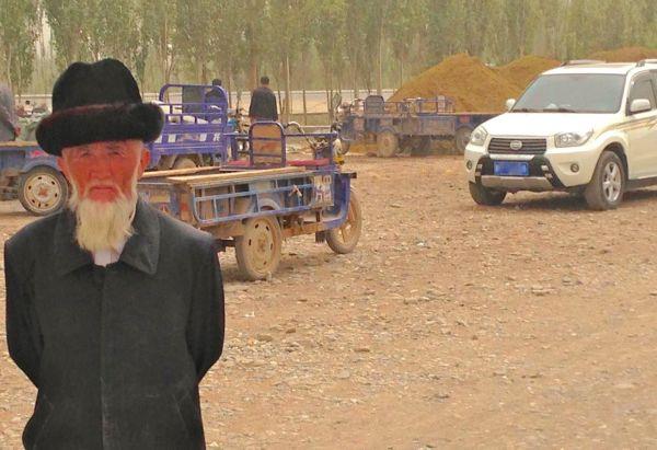 Kashgari farmer Jonway UFO A380