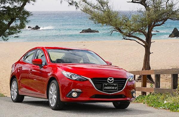 Mazda3 Taiwan 2015. Picture courtesy u-car.com.tw