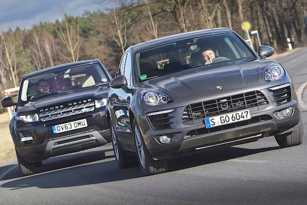 Porsche Macan Europe March 2015. Picture courtesy youtube.com