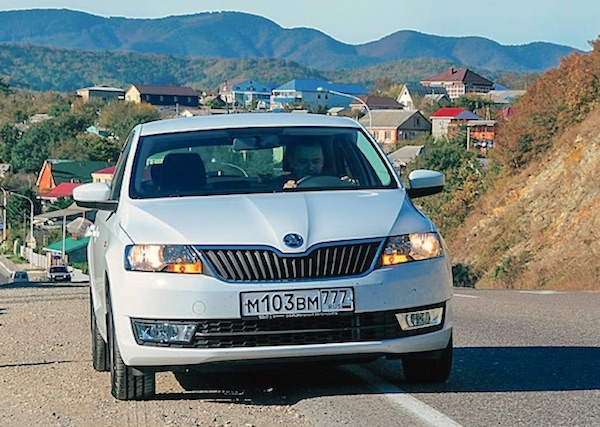 Skoda Rapid Moldova August 2016. Picture courtesy zr.ru