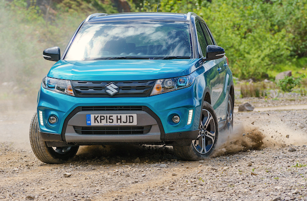 Suzuki Vitara Greece July 2015