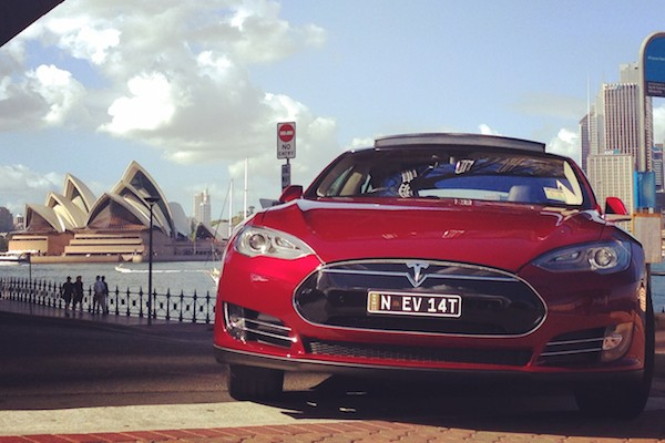 Tesla Model S Sydney 2015