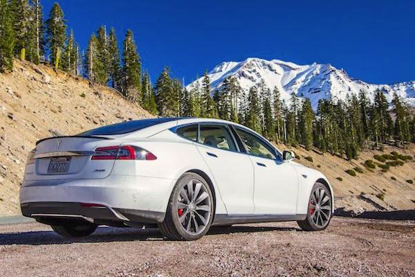 Tesla Model S Norway June 2015. Picture courtesy caradvice.com.au