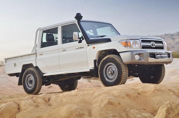 Toyota Land Cruiser Yemen April 2016
